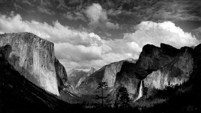 Yosemite-BW